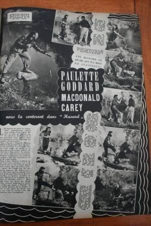 Paulette Goddard MacDonald Carey