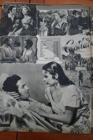 Tyrone Power Jean Peters Captain From Castille