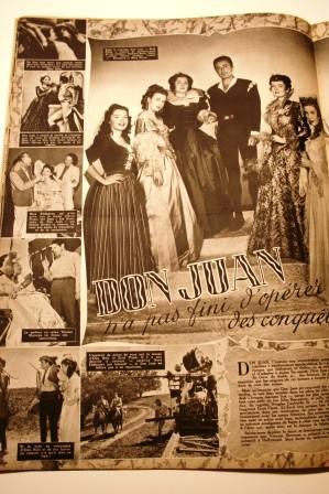 Errol Flynn Viveca Lindfors Barbara Bates Don Juan