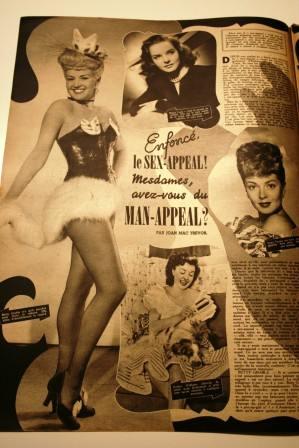Betty Grable Diana Lynn Lana Turner