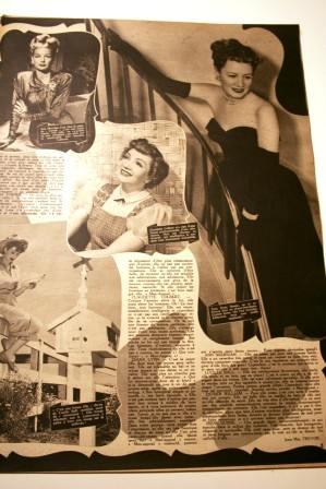Irene Dunne Lucille Ball Claudette Colbert
