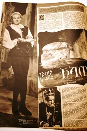 Laurence Olivier Jean Simmons Hamlet