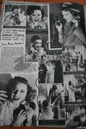 Barbara Stanwyck Burt Lancaster