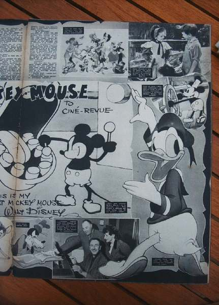 Mickey Donald Duck Walt Disney