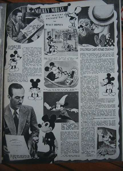 Mickey Mouse Walt Disney