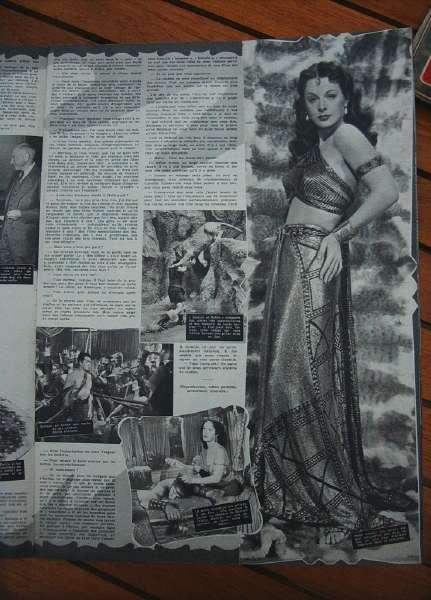 Hedy Lamarr Samson And Delilah Cecil B. De Mille