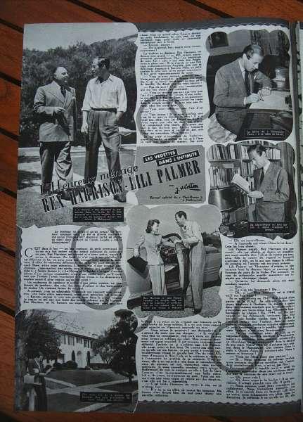 Rex Harrison Lili Palmer