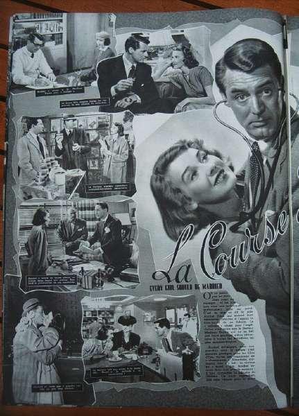 Cary Grant Franchot Tone Betsy Drake Diana Lynn