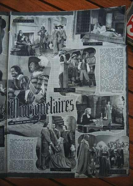 Gene Kelly Lana Turner June Allyson 3 Musketeers