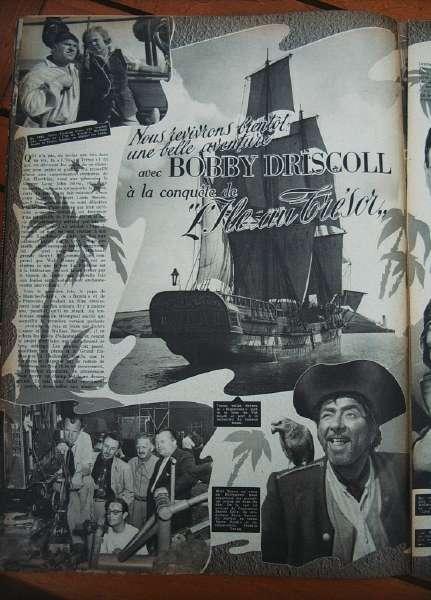 Bobby Driscoll Robert Newton Treasure Island