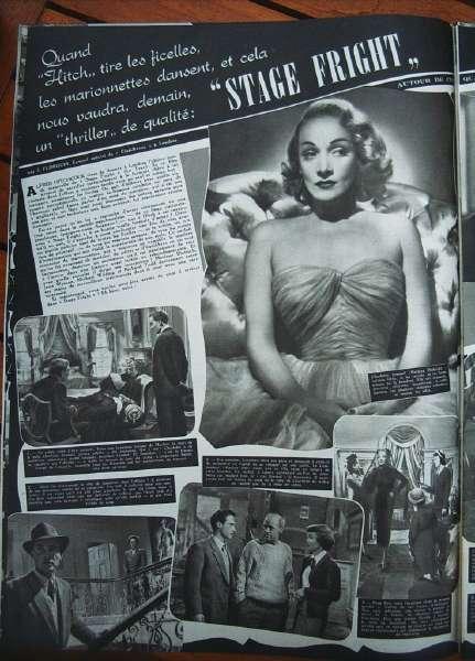 Marlene Dietrich Jane Wyman Richard Todd