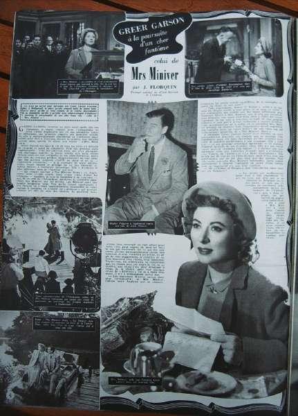 Greer Garson Walter Pidgeon Miss Miniver