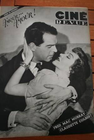 Fred Mac Murray Claudette Colbert