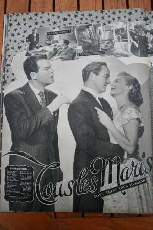 Madeleine Carroll Fred McMurray Don't Trust Your Husband