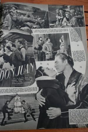 Errol Flynn Viveca Lindfors Don Juan