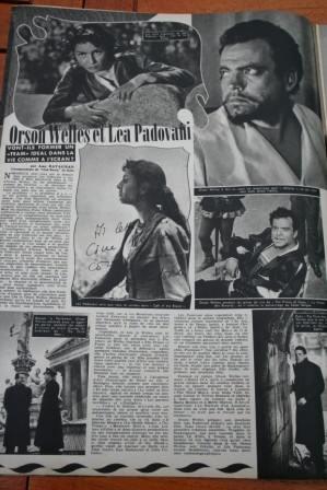 Orson Welles Lea Padovani