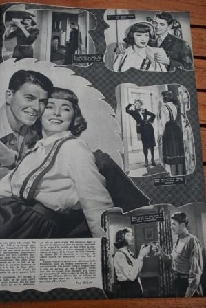Ronald Reagan Eleanor Parker Eve Arden