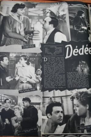 Simone Signoret Bernard Blier Dede D'Anvers