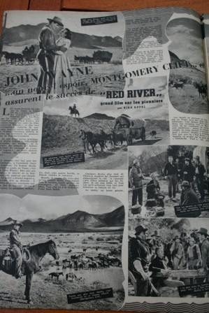 John Wayne Montgomery Clift