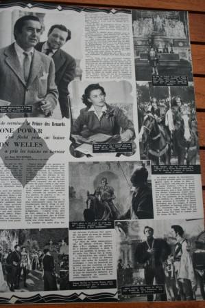 Tyrone Power Orson Welles
