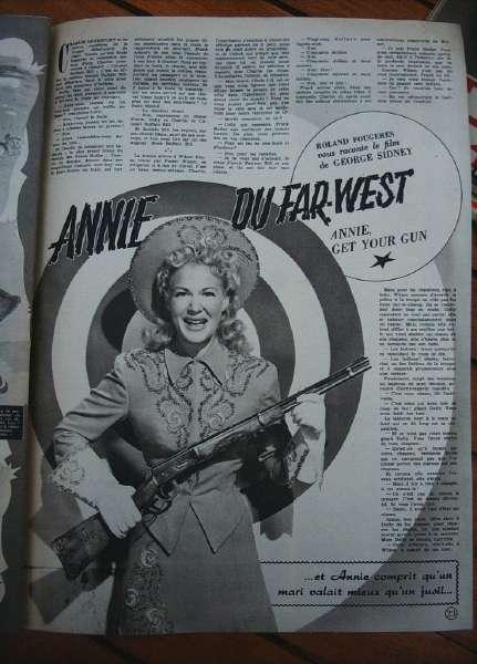 Betty Hutton Howard Keel Annie, Get Your Gun