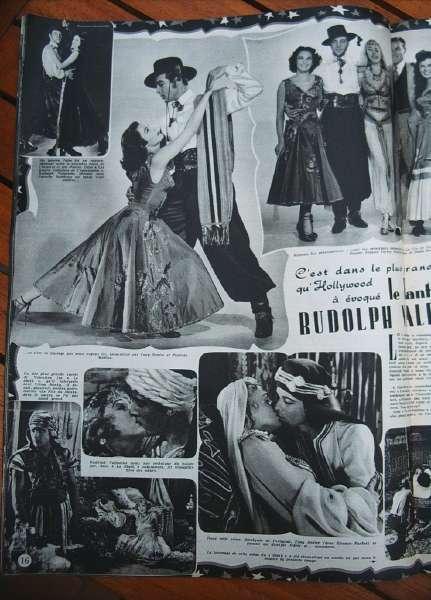 Rudolph Valentino Eleanor Parker Tony Dexter
