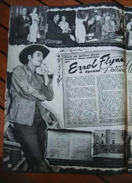Errol Flynn Patricia Wymore