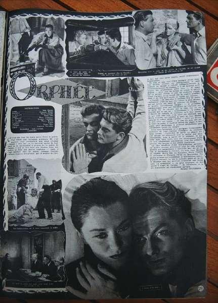 Jean Marais Jean Cocteau Orphee