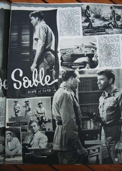 Burt Lancaster Claude Rains Paul Henreid Peter Lorre