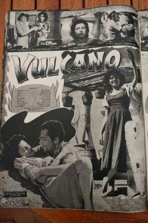 Anna Magnani Rossano Brazzi Vulcano