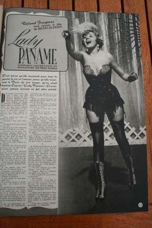 Suzy Delair Louis Jouvet Lady Paname
