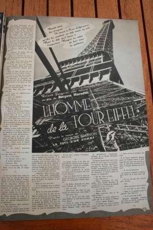 Eiffel Tower Burgess Meredith Charles Laughton
