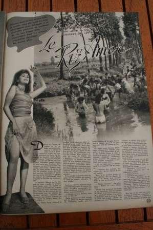 Silvana Mangano Doris Dowling Riso Amaro