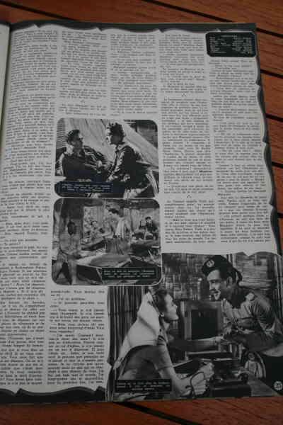 Ronald Reagan Patricia Neal Richard Todd