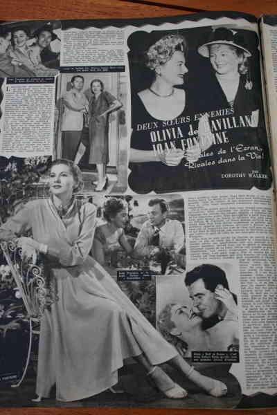 Olivia De Havilland Joan Fontaine