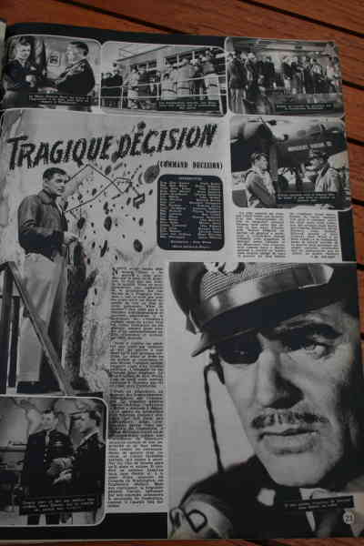 Clark Gable Walter Pidgeon Van Johnson