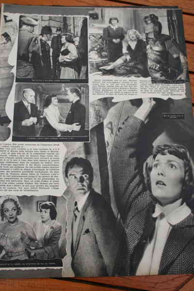Jane Wyman Marlene Dietrich (top left is missing!)