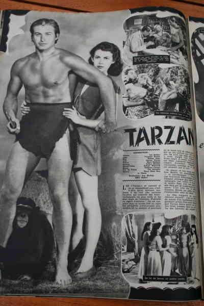 Lex Barker Vanessa Brown Tarzan