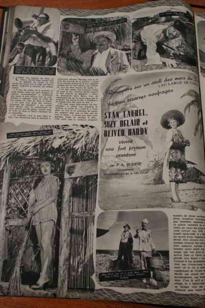 Laurel And Hardy Suzy Delair