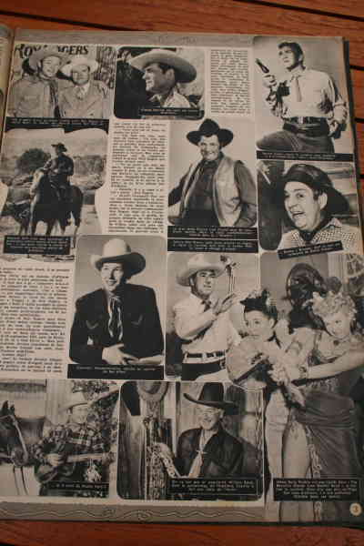 Monte Hale William Boyd Rex Allen Andy Devine