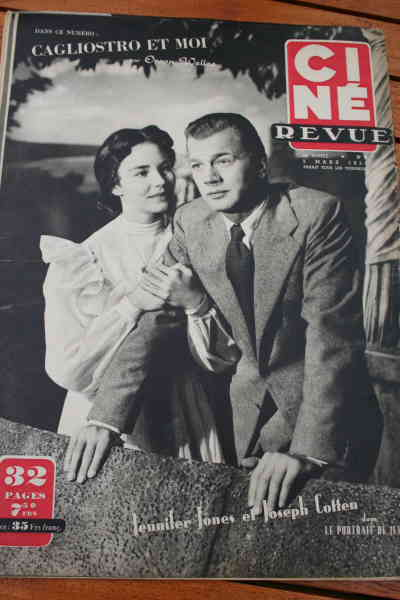 Jennifer Jones Joseph Cotten