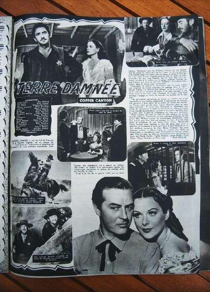 Hedy Lamarr Ray Milland