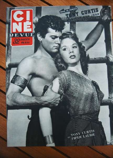 Tony Curtis Piper Laurie