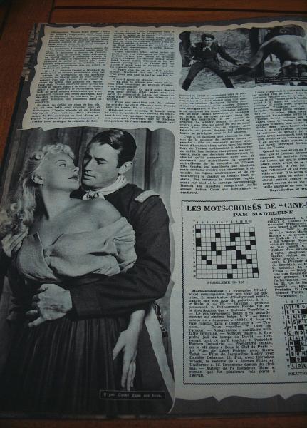 Gregory Peck Barbara Payton Ward Bond