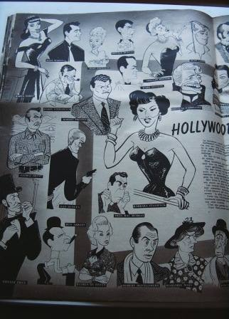 Hollywood Caricatures