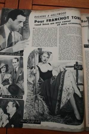 Franchot Tone Barbara Payton