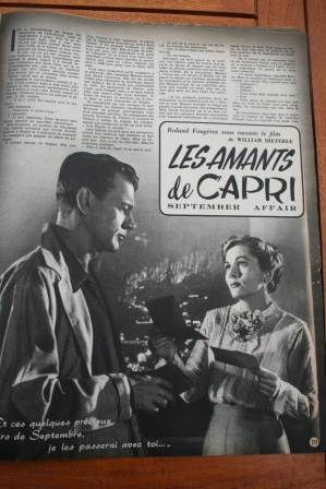 Joan Fontaine Joseph Cotten September Affair