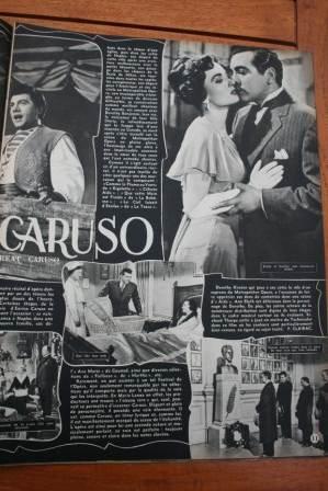Mario Lanza Ann Blyth The Great Caruso