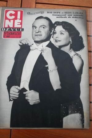Hedy Lamarr Bob Hope