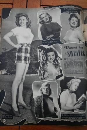 Susan Hayward June Haver Kathleen Hughes